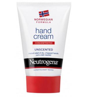 Neutrogena Hand Cream Unscented Ενυδατική Κρέμα Χεριών Χωρίς Άρωμα, 75 ml
