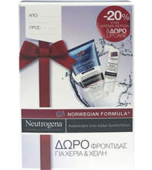 Neutrogena Anti-Aging Hand Cream SPF25 (50ml) με ΔΩΡΟ Nourishing Lipcare
