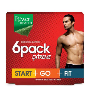 Power Health 6 Pack Extreme Start Go Fit 90Caps