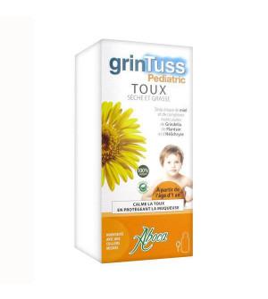 Aboca Grintuss Pediatric Παιδικό Σιρόπι Για Ξηρό & Παραγωγικό Βήχα 180gr