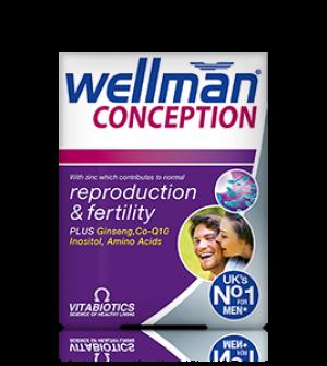 Vitabiotics Wellman Conception 30Caps