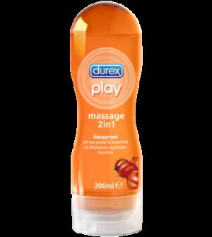 Durex Play Massage 2 In 1 Guarana Gel 200ml