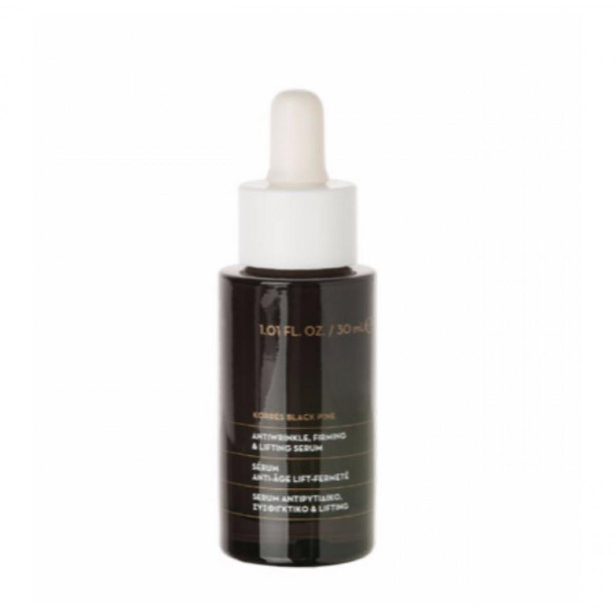 558551a946 -25% Korres Black Pine 3D Ανόρθωση περιγράμματος   Ολική Σύσφιξη Serum 30ml