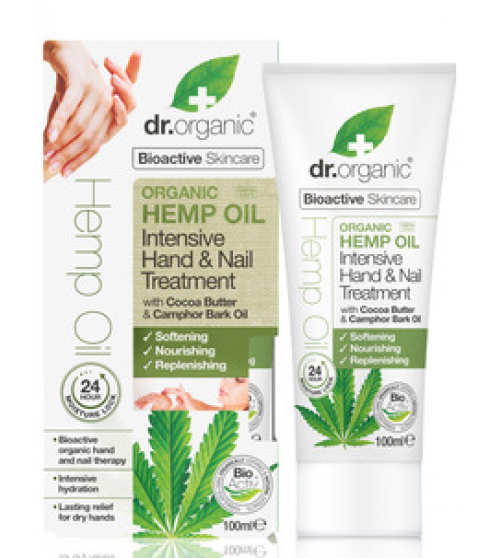 Dr. Organic Hemp Oil Hand & Nail Treatment 100ml