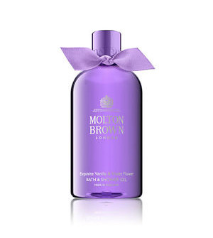 Molton Brown Exquisite Vanilla & Violet Flower Bath & Shower Gel 300ml