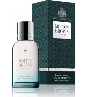 Molton brown russian leather edt 50ml
