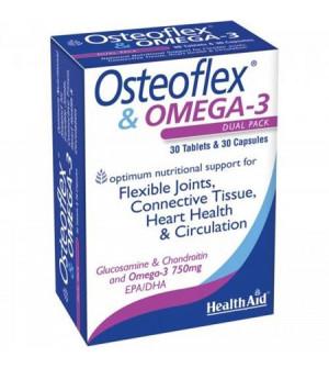 Health Aid Osteoflex Omega 3 30Tabs + 30Caps