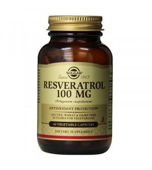 Solgar Resveratrol 100mg 60 veg. caps