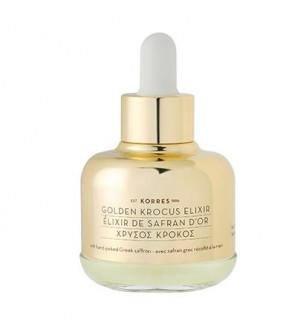 Korres Golden Krocus Elixir Ελιξήριο Νεότητας με Χρυσό Κρόκο για Όλους τους Τύπους Επιδερμίδας 30ml