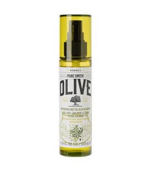 Korres Pure Greek Olive Αντιγηραντικό Λάδι Σώματος Με Άνθη Ελιάς 100ml