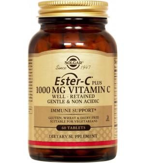 Solgar Ester-C Plus 1000Mg Vitamin C 60tabs