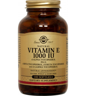 Solgar Vitamin E 1000IU  Plus Mixed 100S
