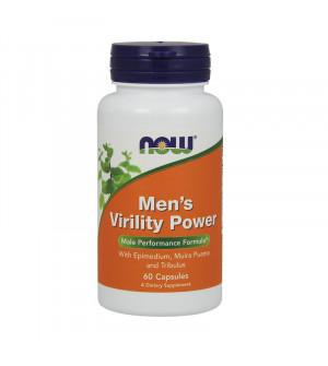 Now Foods Men's Virility Power 60 Caps