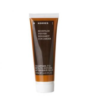 Korres Γαλάκτωμα Για Μετά Το Ξύρισμα Mountain Pepper Bergamot Coriander 125ml