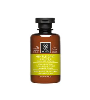 Apivita Σαμπουάν Καθημερινής Χρήσης με Χαμομήλι & Μέλι 250ml & Δώρο Μάσκα Μαλλιών Ενυδάτωσης 20ml