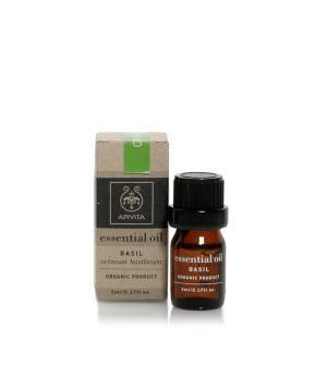 Apivita Essential Oil Αιθέριο Έλαιο Βασιλικού 5ml