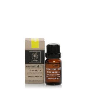 Apivita Essential Oil Αιθέριο Έλαιο Σιτρονέλλα 10ml