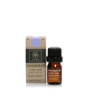 Apivita Essential Oil Αιθέριο Έλαιο Φασκόμηλο 5ml