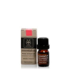 Apivita Essential Oil Αιθέριο Έλαιο Γεράνι 5ml
