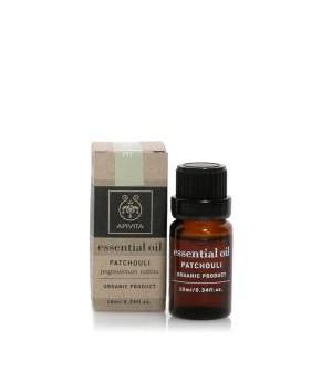 Apivita Essential Oil Αιθέριο Έλαιο Πατσουλί 10ml