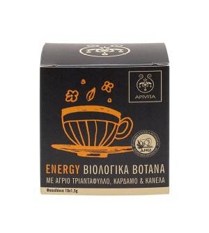 Apivita Energy Organic Herbal Tea 10x1,2g