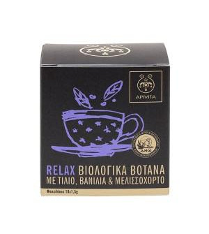 Apivita Relax Organic Herbal Tea 10x1,5g