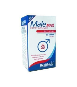 Health Aid Male Max Συνθεση Βοτανων 30Tabs