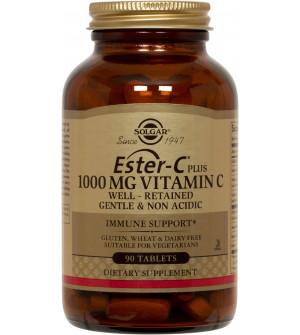 Solgar Ester-C Plus 1000mg Vitamin C 90Tabs