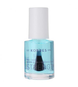 Korres Nail Care Ενδυνάμωση Base Coat 10ml