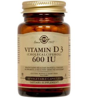 Solgar Vitamin D3 600Iu 15mg 60Caps