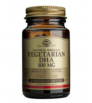 Solgar Vegetarian DHA 100Mg 30Veg.Softgels