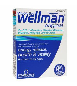 Vitabiotics Wellman Original 30Tabs