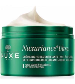 Nuxe Crème Riche Nuxuriance Ultra Κρεμα ημέρας πλούσιας υφής για ξηρή και πολύ ξηρή επιδερμίδα 50ml