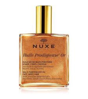 Nuxe Huile Prodigieuse Or Ιριδίζον Ξηρό λάδι για πρόσωπο-σώμα-μαλλιά 100ml