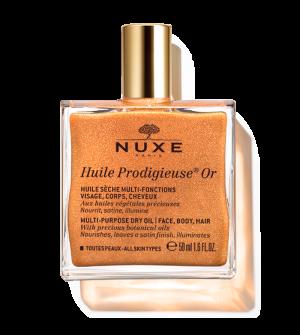 Nuxe Huile Prodigieuse Or Ιριδίζον Ξηρό λάδι για πρόσωπο-σώμα-μαλλιά 50ml
