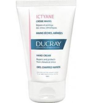 Ducray Ictyane Hand Cream (50ml) - Κρέμα για ξηρά και τραυματισμένα χέρια