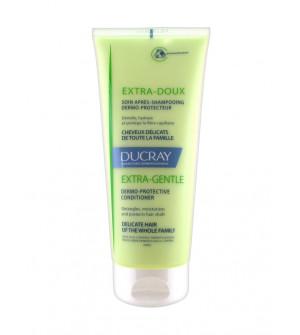 Ducray Extra Doux Soin Apres Shampoo Δερμοπροστατευτική Φροντίδα Μαλλιών για μετά το λούσιμο, 200ml