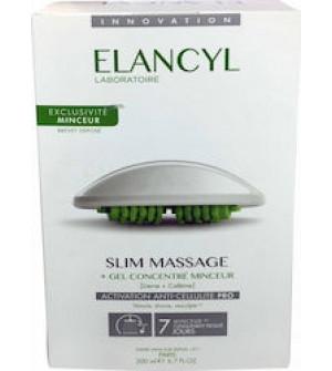 Elancyl Slim Massage (Συσκευή Μασάζ κατά της Κυτταρίτιδας + Slimming Concentrate Gel 200ml).