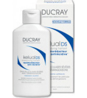 Ducray Kelual DS Shampoo, Σαμπουάν Αγωγής για Σοβαρές Απολεπιστικές Καταστάσεις με Κνησμό 100ml