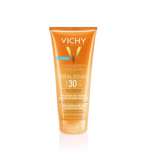 Vichy Ideal Soleil Wet Skin Έξτρα Απαλό Αντηλιακό Γαλάκτωμα Gel για Πρόσωπο/Σώμα SPF30 200ml