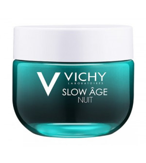 VICHY Slow Age Νύχτας - 2 σε 1 Δροσερή Κρέμα & Μάσκα