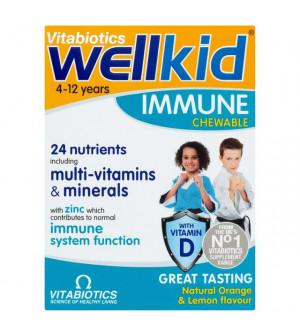 Vitabiotics Wellkid Immune Chewable 30Chewable Tabs.