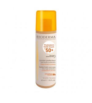 Bioderma Photoderm Nude Touch SPF50+  Αντηλιακή Προσώπου με Light απόχρωση 40ml