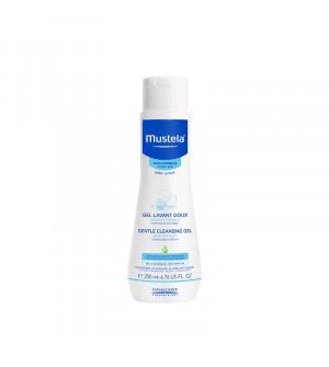 Mustela gentle cleansing gel 200ml