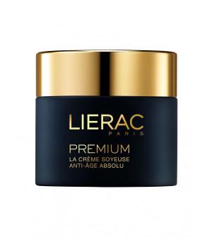 Lierac Premium La Creme Soyeuse Κρέμα Προσώπου Απόλυτης Αντιγήρανσης & Άνεσης με βελούδινο τελείωμα, 50ml