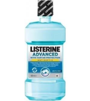 Johnson's Listerine Advanced Tartar Control Στοματικό Διάλυμα για Πρόληψη και Καταπολέμηση της Πλάκας και της Πέτρας 500ml