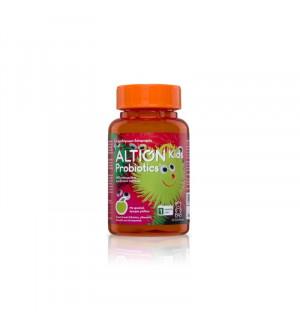 Altion Kids Probiotics Συμπλήρωμα Διατροφής με προβιοτικά από 4 είδη γαστροανθεκτικών στελεχών 60 ζελεδάκια
