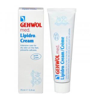 Gehwol med Lipidro Cream Κρέμα για την φροντίδα της ξηρής & ευαίσθητης επιδερμίδας των ποδιών 75ml
