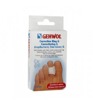 Gehwol Correction Ring G Διορθωτικός δακτύλιος τύπου G 3τεμ.