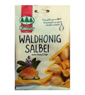 Kaiser Φασκόμηλο & Μέλι του Δάσους (Waldhonig Salbei) - Kαραμέλες για το βήχα, 60gr